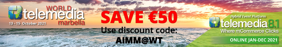 get your discount for World Telemedia in Marbella with our aimm discount